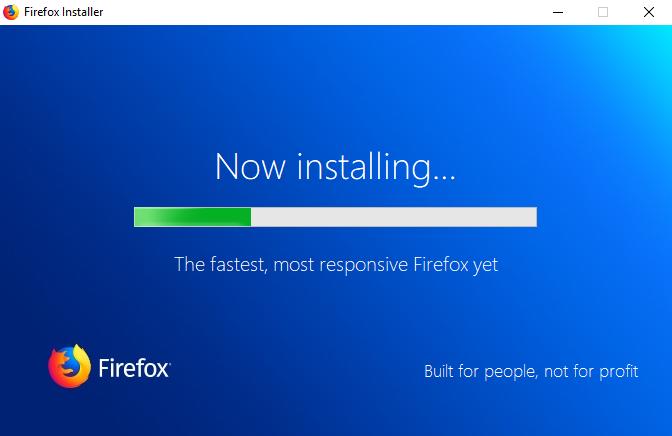 全新安裝Firefox