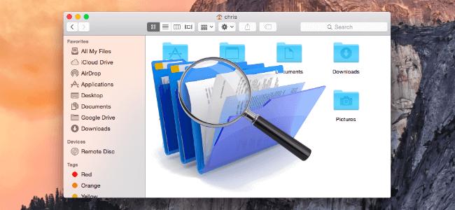 在Mac上查找重複文件