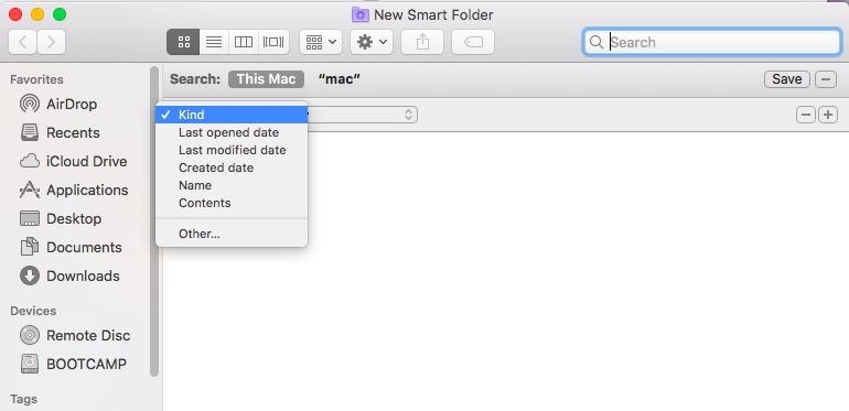 通過Finder在Mac上查找重複文件