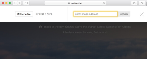 通過Yandex反向圖像搜索查找相似的圖像