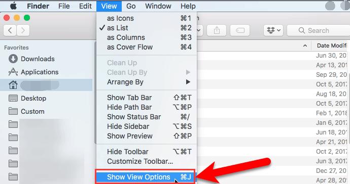 附加列大小以在Finder應用程序中顯示類別