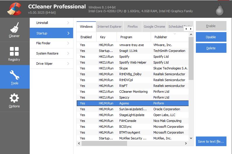 最佳Mac Cleaner CCleaner
