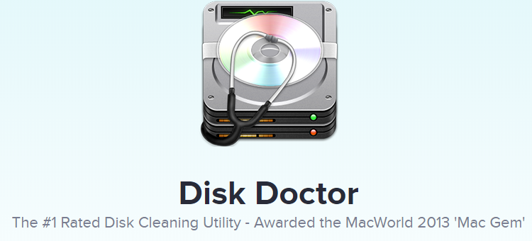 最佳Mac Cleaner Disk Doctor