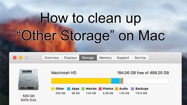 如何清除Mac Storage[其他]儲存空間