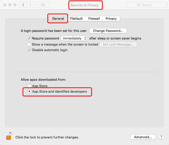 在Mac上信任應用