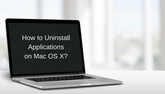 如何在Mac上卸載應用程序