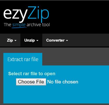 在Mac上使用ezyZip打開RAR文件