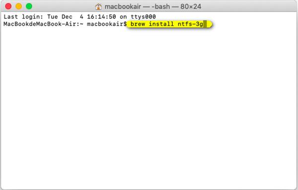 Ntfs 3g安裝代碼