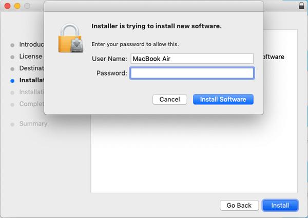Osxfuse安裝密碼